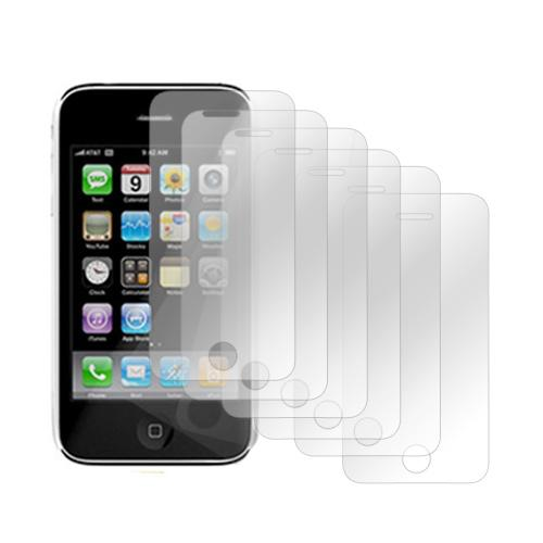 Apple iPhone 3G 3Gs Bundle Package w/ Six Clear Screen Protectors