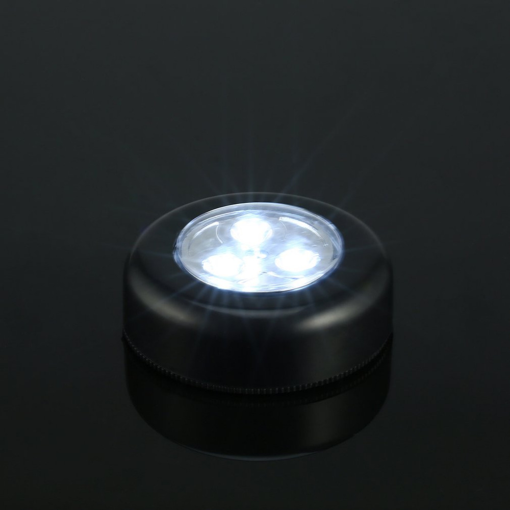LED Touch Lamp, [Black] Touch Lamp for Indoor, Outdoor, Closets, Storage Rooms, Car, Kitchen, and Anywhere Else!