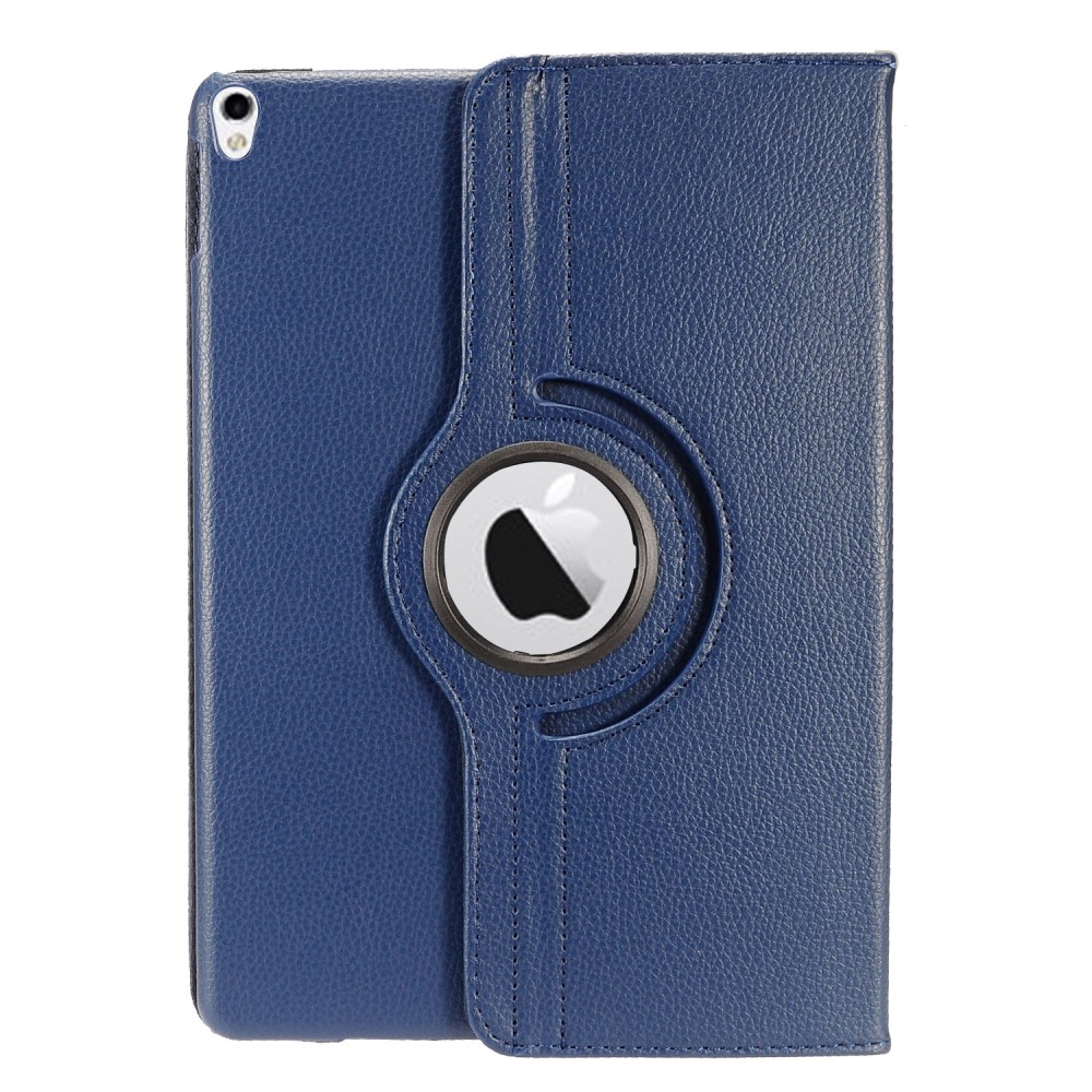 Apple iPad Pro 2 (10.5 inch) Leather Case, [Navy Blue] Slim Protective PU Leather Tablet Hard Case w/ Stand and Rotatable Shield
