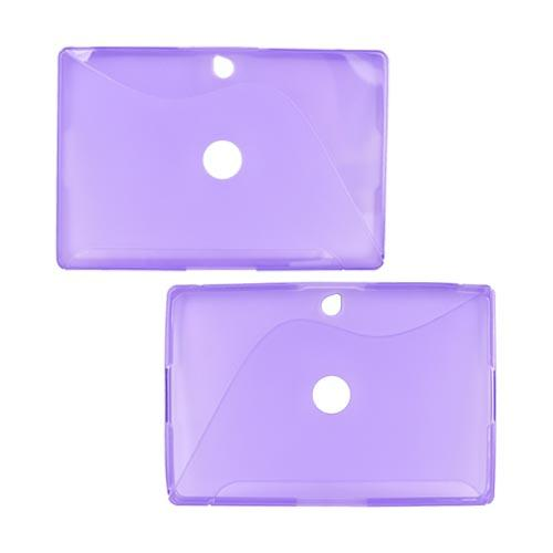 Blackberry PlayBook Crystal Silicone Case - Purple