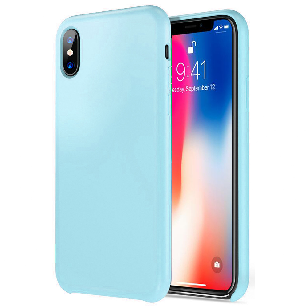 Made for [Apple iPhone X / XS 2018] TPU Case, Slim Flexible Anti-shock Crystal Silicone Protective TPU Gel Skin Case [TEAL] by Redshield