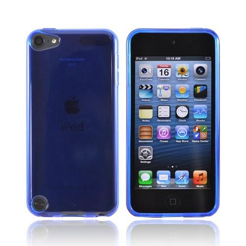 Apple iPod Touch 5 Crystal Silicone Case - Blue