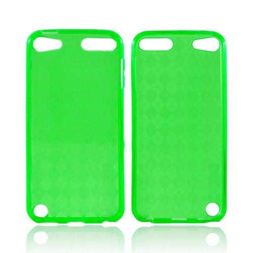 Apple iPod Touch 5 Crystal Silicone Case - Green