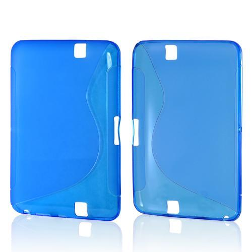 Blue S Crystal Silicone Case for Amazon Kindle Fire HD
