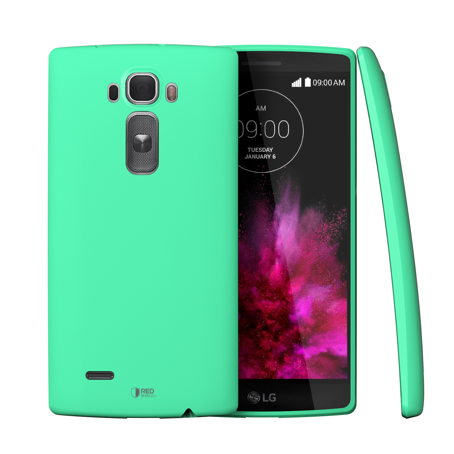 G Flex 2 Case, [Mint] Slim & Flexible Crystal Silicone TPU Skin Cover for LG G Flex 2