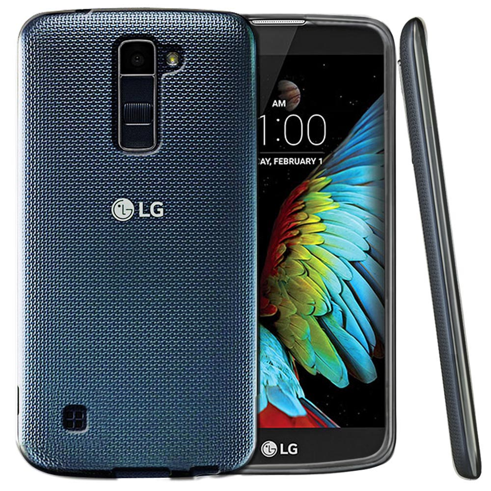 LG K10 Case, REDshield [Frost Clear] Slim & Flexible Anti-shock Crystal Silicone Protective TPU Gel Skin Case Cover