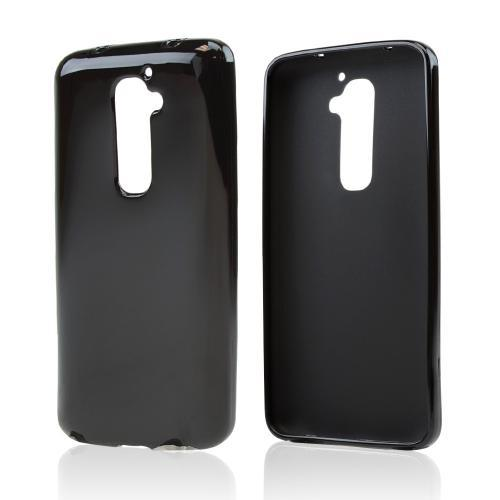 Black Crystal Silicone Skin Case for LG G2 (AT&T, T-Mobile, & Sprint)