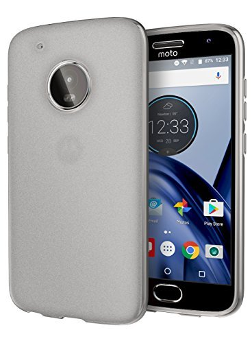 Motorola Moto G5 Plus Case, [REDshield] Slim & Flexible Anti-shock Crystal Silicone Protective TPU Gel Skin Case Cover [Clear] with Travel Wallet Phone Stand