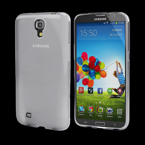 Clear Crystal Silicone Skin Case for Samsung Galaxy Mega 6.3