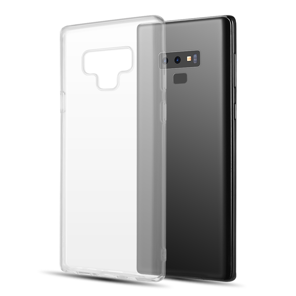 [REDshield] Samsung Galaxy Note 9 TPU Case  Slim & Flexible Anti-shock Crystal Silicone Protective TPU Gel Skin Case [Clear]