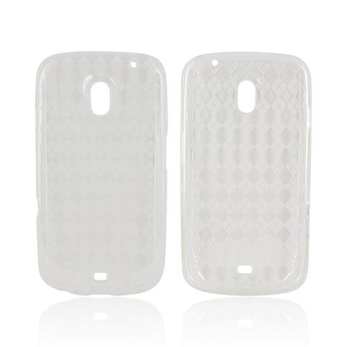 Samsung Galaxy Nexus Crystal Silicone Case - Argyle Clear