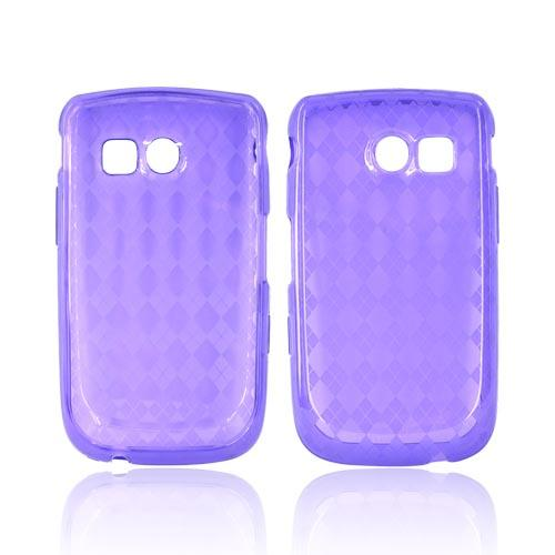 Samsung Freeform 2 R360 Crystal Silicone Case - Purple