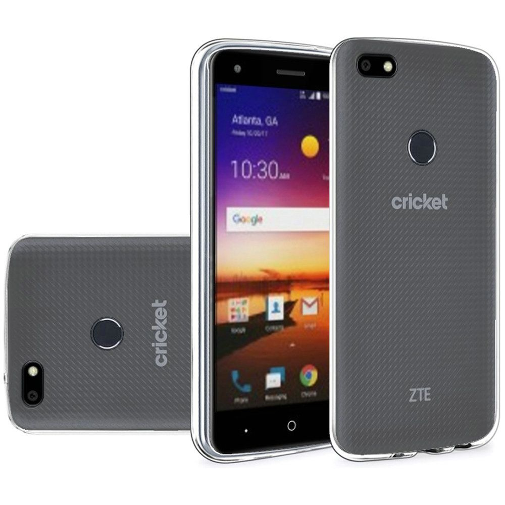 [REDshield] ZTE Blade X TPU Case, [Clear] Slim & Flexible Anti-shock Crystal Silicone Protective TPU Gel Skin Case Cover