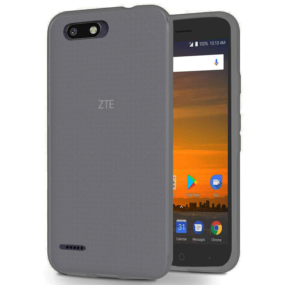 [REDshield] ZTE Blade Force TPU Case, [Frost Clear] Slim & Flexible Anti-shock Crystal Silicone Protective TPU Gel Skin Case Cover