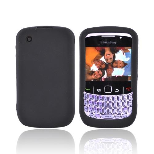 Blackberry Curve 3G 9330, 9300, 8520, 8530 Silicone Case - Black
