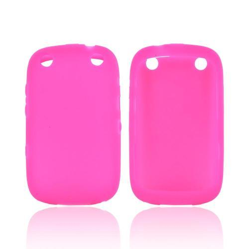 BlackBerry Curve 9310/9320 Silicone Case - Hot Pink