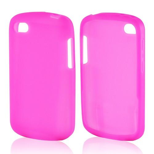 Hot Pink Silicone Case for Blackberry Q10
