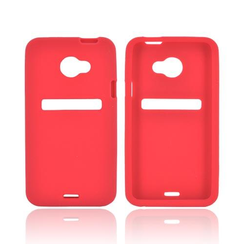 HTC EVO 4G LTE Silicone Case - Red