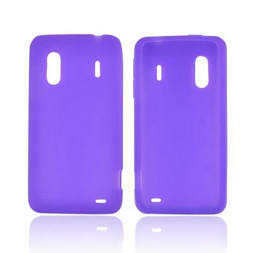 HTC EVO Design 4G Silicone Case - Purple
