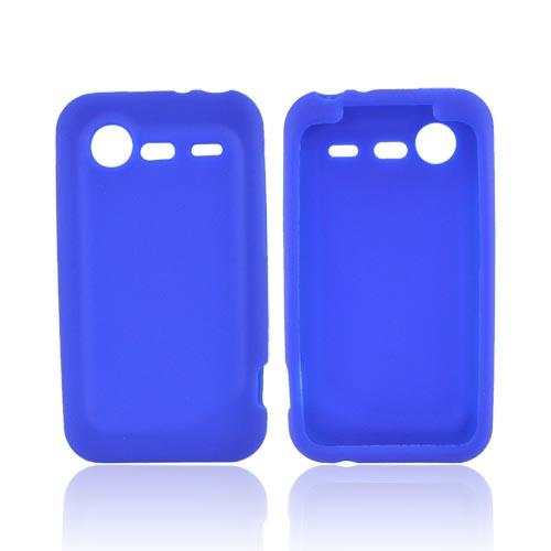 HTC Droid Incredible 2 Silicone Case - Blue