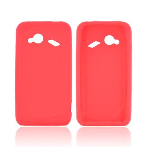 HTC Droid Incredible 4G Silicone Case - Red