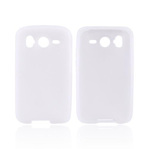 HTC Inspire 4G Silicone Case - Frost White