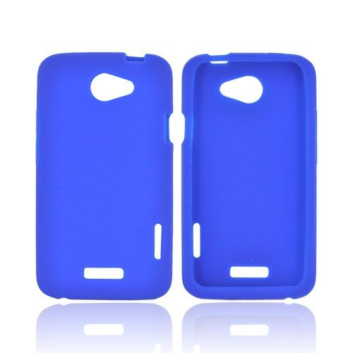 HTC One X Silicone Case - Blue