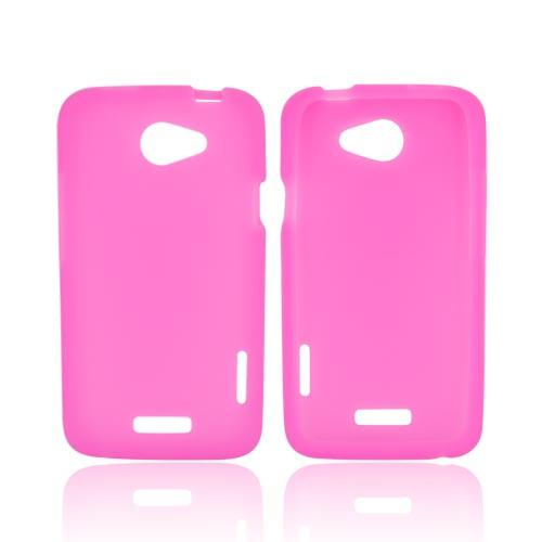 HTC One X Silicone Case - Hot Pink
