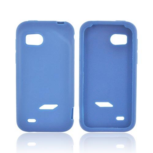 HTC Rezound Silicone Case - Navy Blue