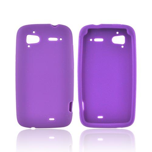 HTC Sensation 4G Silicone Case - Purple