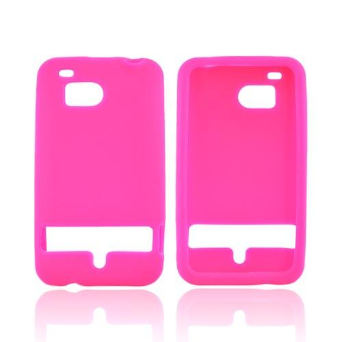 HTC Thunderbolt Silicone Case - Hot Pink