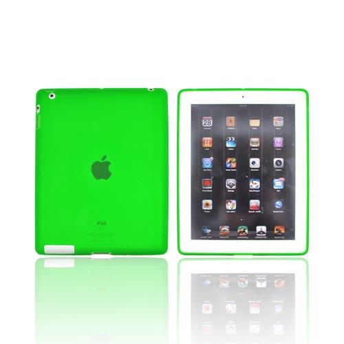 Apple iPad 2, New iPad Crystal Silicone Case - Green