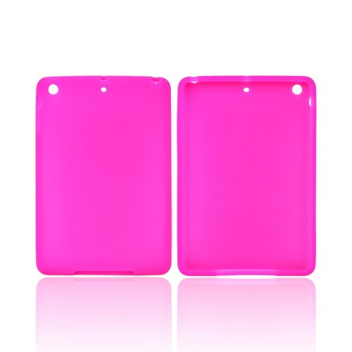 Hot Pink Silicone Skin Case for Apple iPad Mini/ iPad Mini 2