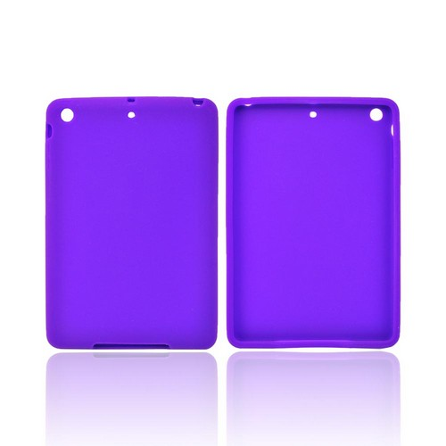 Purple Silicone Skin Case for Apple iPad Mini 1/2/3