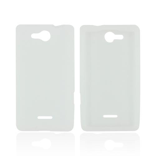 LG Lucid VS840 Silicone Case - Frost White