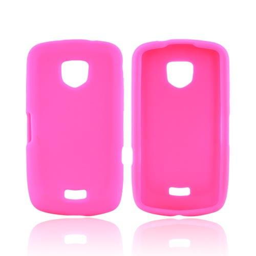 Samsung Droid Charge Silicone Case - Hot Pink