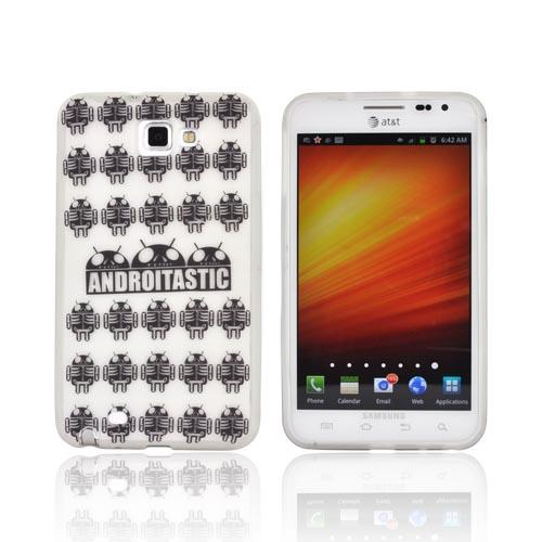 Samsung Galaxy Note Androitastic Silicone Case - Frost White Androitastic Los Muertos
