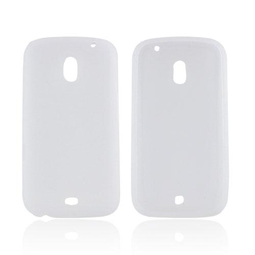 Samsung Galaxy Nexus Silicone Case - Frost White