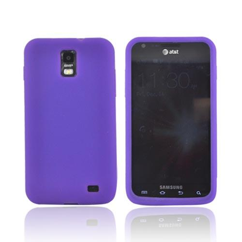 Samsung Galaxy S2 Skyrocket Silicone Case - Purple