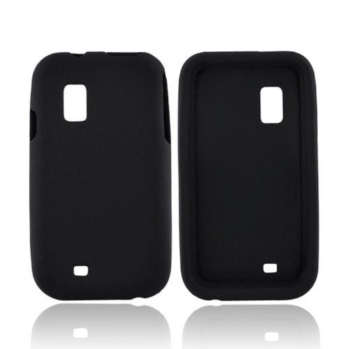 Samsung Fascinate i500 Silicone Case - Black