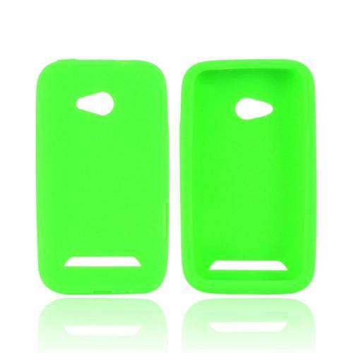 Samsung Galaxy Victory 4G LTE Silicone Case - Neon Green
