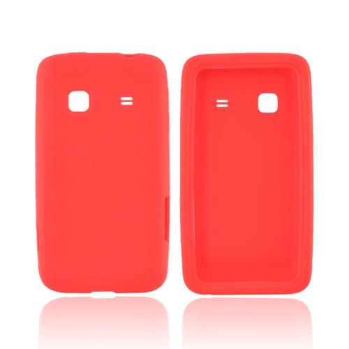 Samsung Galaxy Prevail M820 Silicone Case - Red