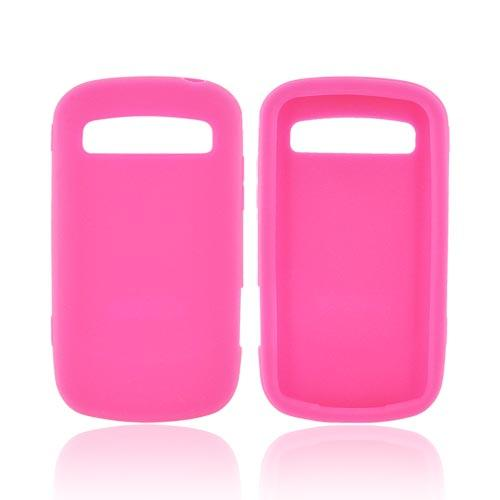 Samsung Rookie R720 Silicone Case - Hot Pink
