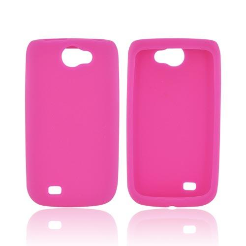 Samsung Exhibit 2 4G Silicone Case - Hot Pink