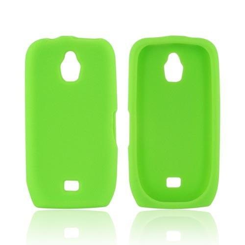 Samsung Exhibit T759 Silicone Case - Green