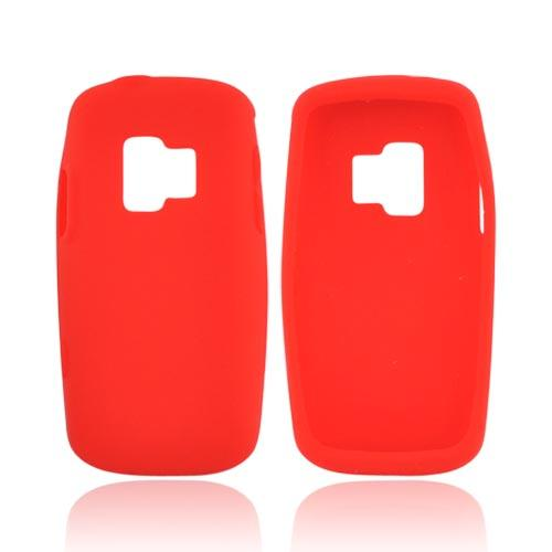 ZTE Agent E520 Silicone Case - Red