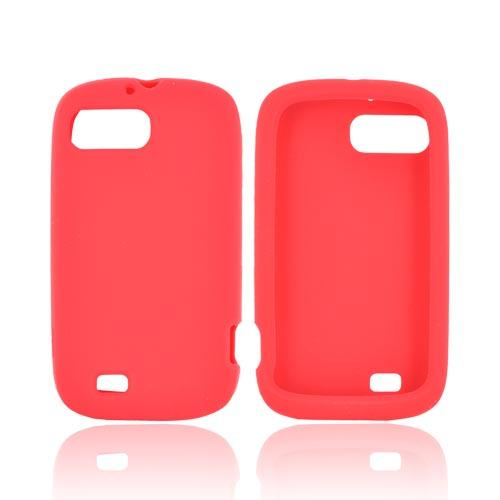 ZTE Fury N850 Silicone Case - Red