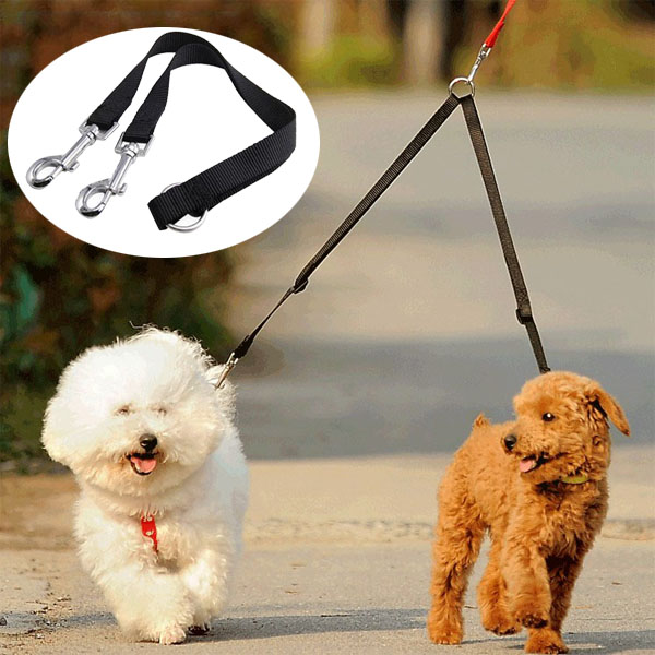 Nylon Coupler Leash Splitter [Black]