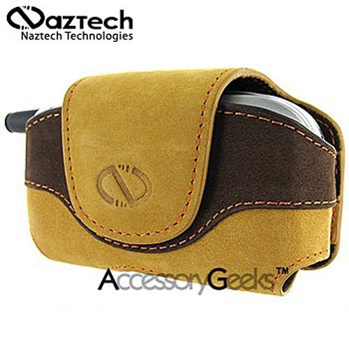 Naztech Horizontal Suede Sahara Cell Phone Case w/ Belt Clip (FM)