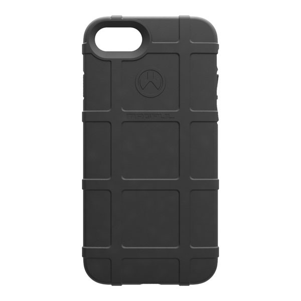 Apple iPhone 8 / 7 / 6S / 6 Case, [Magpul] Field Series Premium Protective Rugged Strong TPU Case [Black]